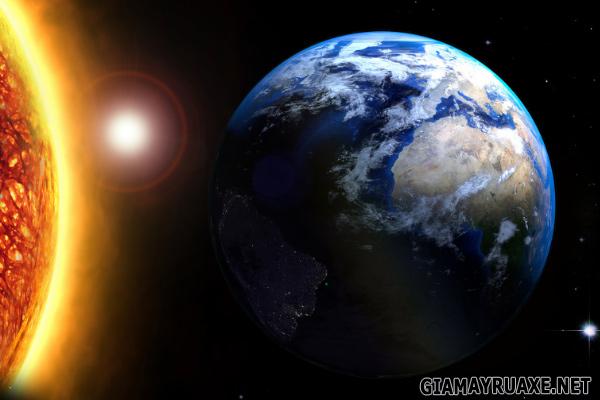 tại sao trái đất quay quanh mặt trời
