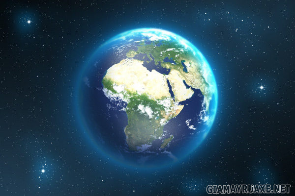 trái đất quay quanh trục