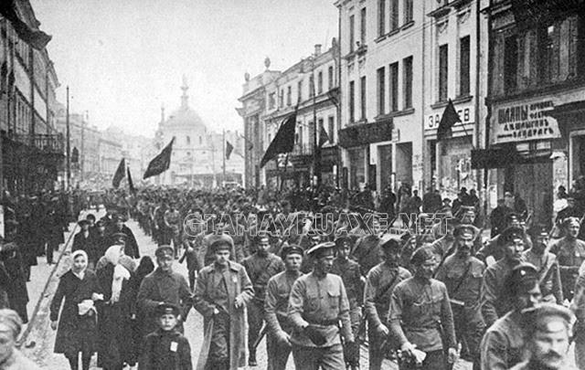 cách mạng tháng 2 1917 ở nga